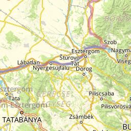 nyergesújfalu térkép Budapesttől délre aktív térkép   funiQ nyergesújfalu térkép